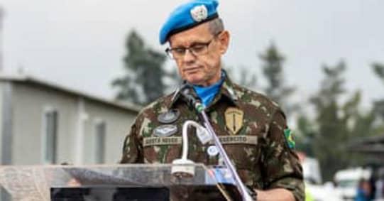 Un nouveau commandant investi à la tête de la force de la Monusco
