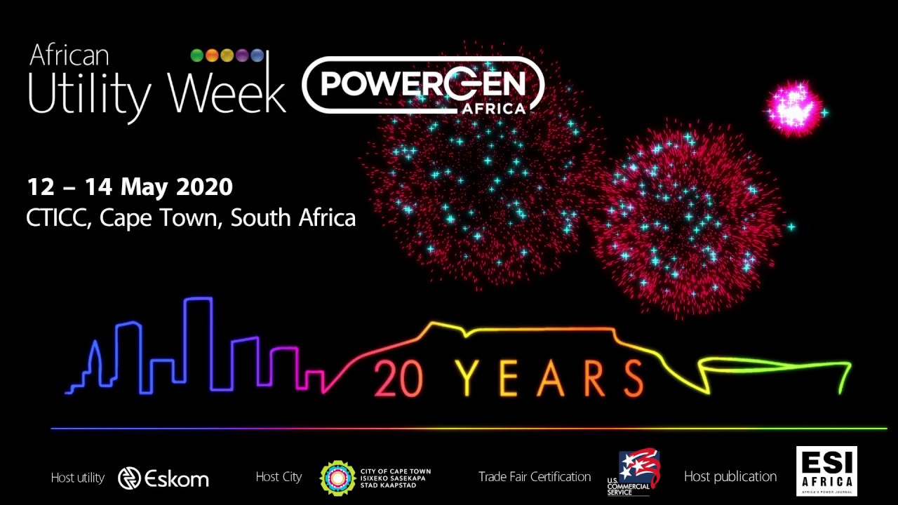 Water and energy sector talks next week        at Virtual African Utility Week and                    POWERGEN Africa