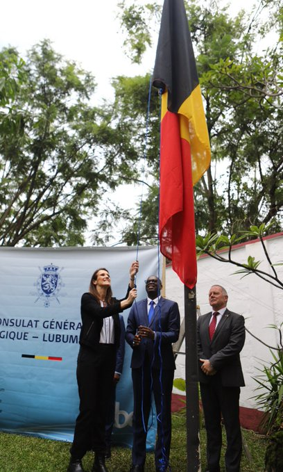 RDC : le consulat général belge à Lubumbashi rouvre officiellement ses portes