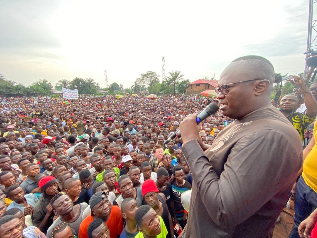 Tshikapa : « Le Kasaï n'a la possibilité de se développer que si chacun y apporte sa contribution » (Guy Mafuta)