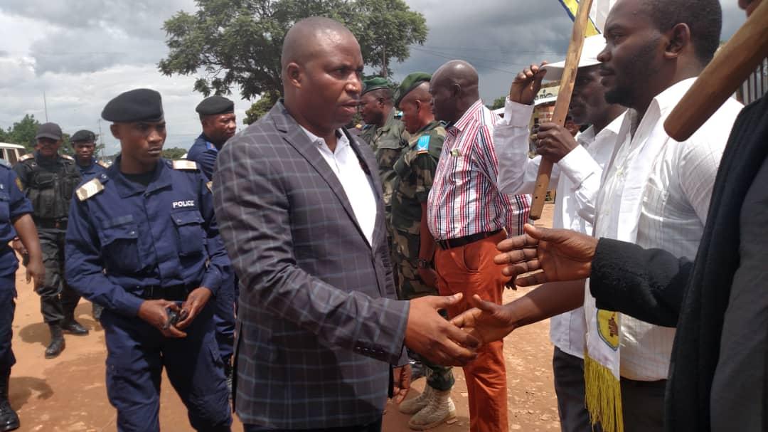 Haut Katanga/insécurité : le ministre provincial de l'intérieur à Sakania pour s'enquérir de la situation