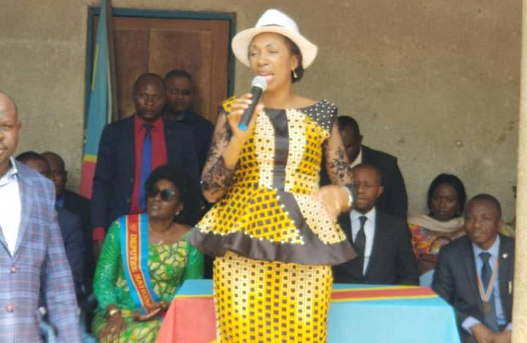 Nord-Kivu : Jeanine Mabunda vole au secours des victimes des massacres à Beni