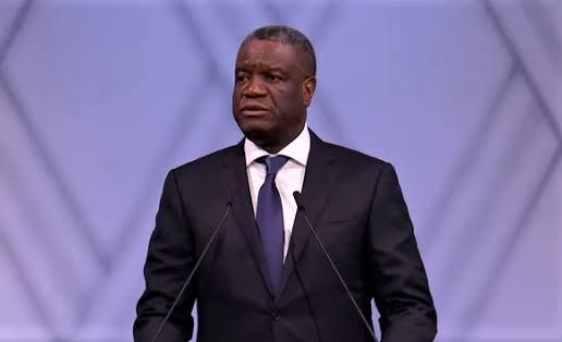 RDC: Dénis Mukwege élevé au rang  d'ambassadeur de la Postcode Loterry en Suède