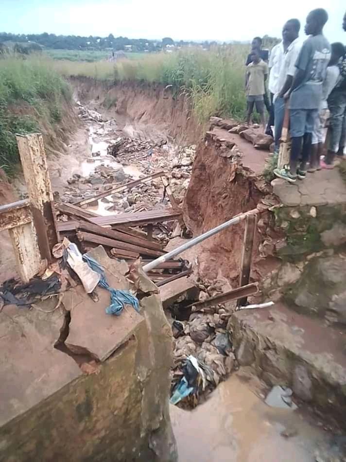Kasumbalesa: les dégâts après la pluie inquiètent