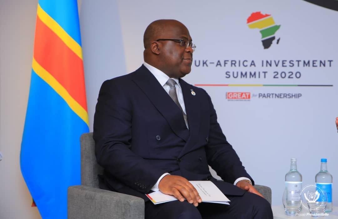 Félix Tshisekedi veut capitaliser les contacts pris à Londres
