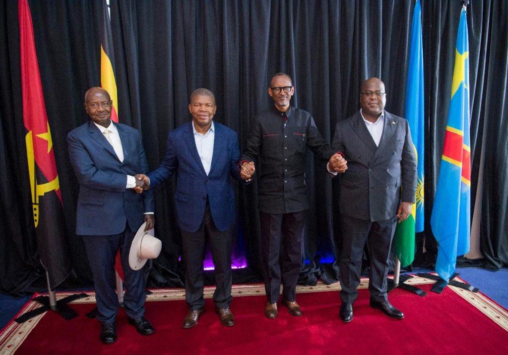 4e Sommet-Quadripartite: plus de tensions diplomatiques entre le Rwanda et l'Ouganda (Communiqué Final)