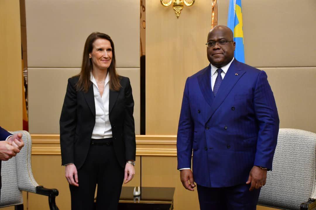 RDC : la première ministre belge Sophie Wilmès a rencontré tour à tour Sylvestre Ilunga et Félix Tshisekedi