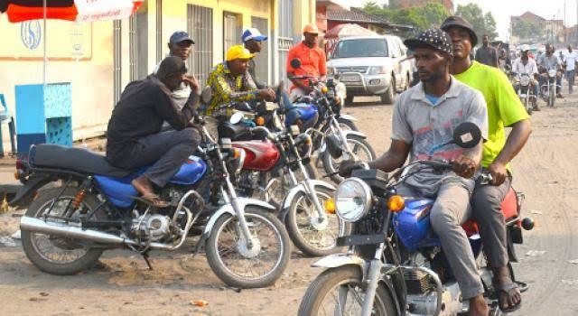 Kananga : dépassé 20 heures, les motos-taxis ne pourront plus circuler dans la ville