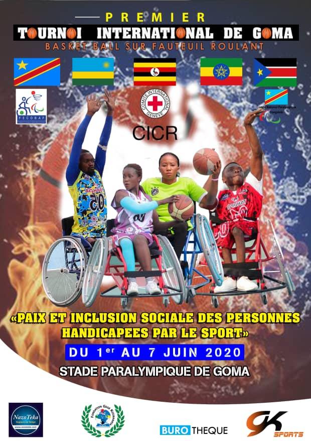 Basketball sur fauteuil roulant : Goma abritera un tournoi international du 01 au 7 juin prochain