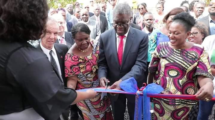 Le Docteur Mukwege a inauguré la Clinique Panzi de Kinshasa