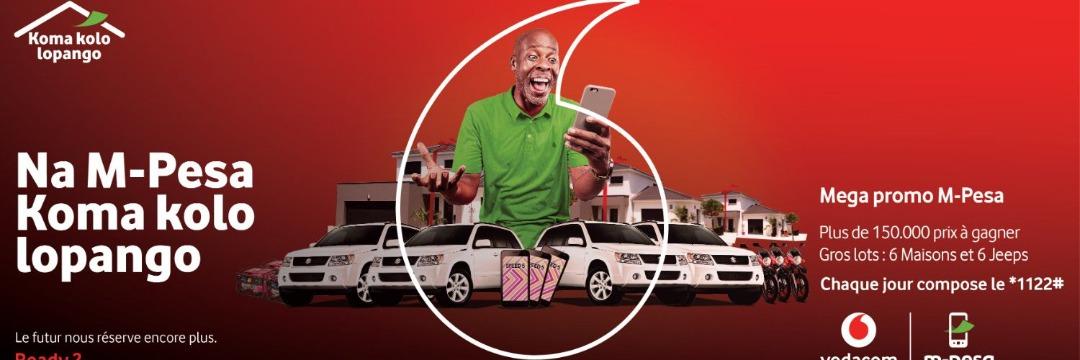 """Promo """"Koma kolo lopango"""" : M-Pesa a déjà remis 2 jeeps et 2 maisons aux gagnants comme promis"""