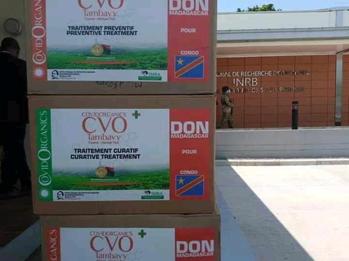 Lutte contre Covid-19: un lot de Covid organics déjà à L'INRB