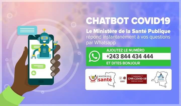 La République Démocratique du Congo lance avec WhatsApp un service d'information sur le coronavirus
