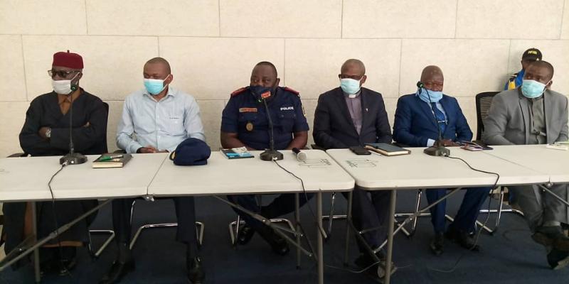 RDC/Reprise des cultes : les policiers seront en tenue civile pour effectuer le contrôle des mesures barrières dans les églises (Sylvano Kasongo)