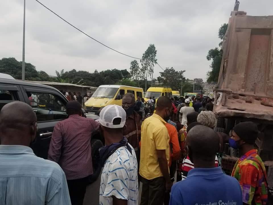 Mont-ngafula : un homme renversé par un camion de manière tragique