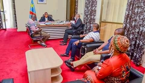 Kasai Oriental : la délégation de la société You Agro Business reçu par le gouverneur Maweja à Mbuji-mayi