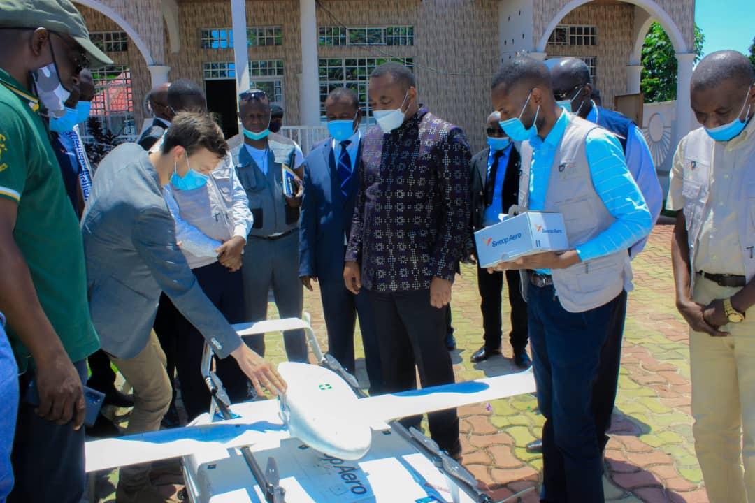 Mbandaka : le ministre de la santé, Eteni Longondo a visité les installations de Village Reach