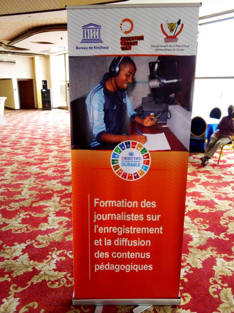 Kinshasa : Clôture samedi de la formation des journalistes des radios communautaires avec l'UNESCO