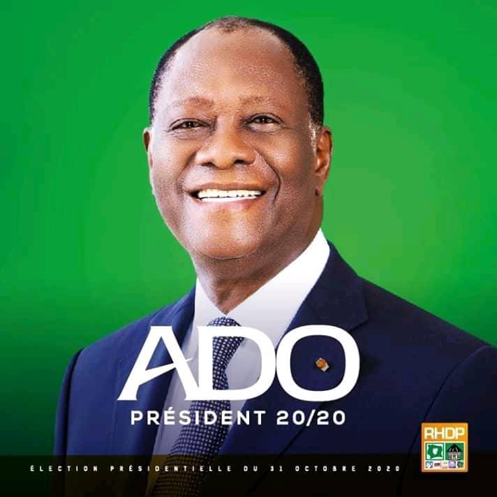 Côte d'Ivoire/Présidentielle : Alassane Ouattara proclamé vainqueur avec plus de 94% des suffrages