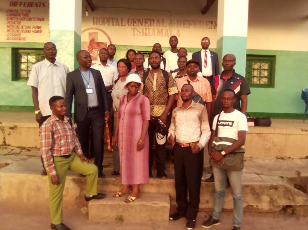 Lomami : Le comité local SYNAPMS pool Mwene-Ditu installé officiellement