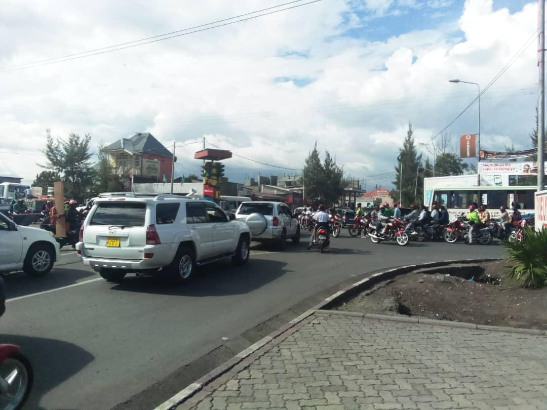 Goma : Un taximan moto perd la vie dans un accident de circulation