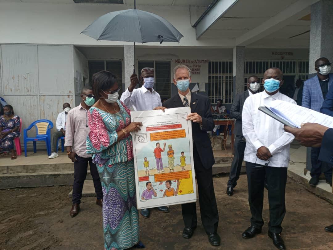 Riposte Covid-19 : l'ambassade du Canada appuie les zones de santé de Kinshasa dans le cadre du projet ASK