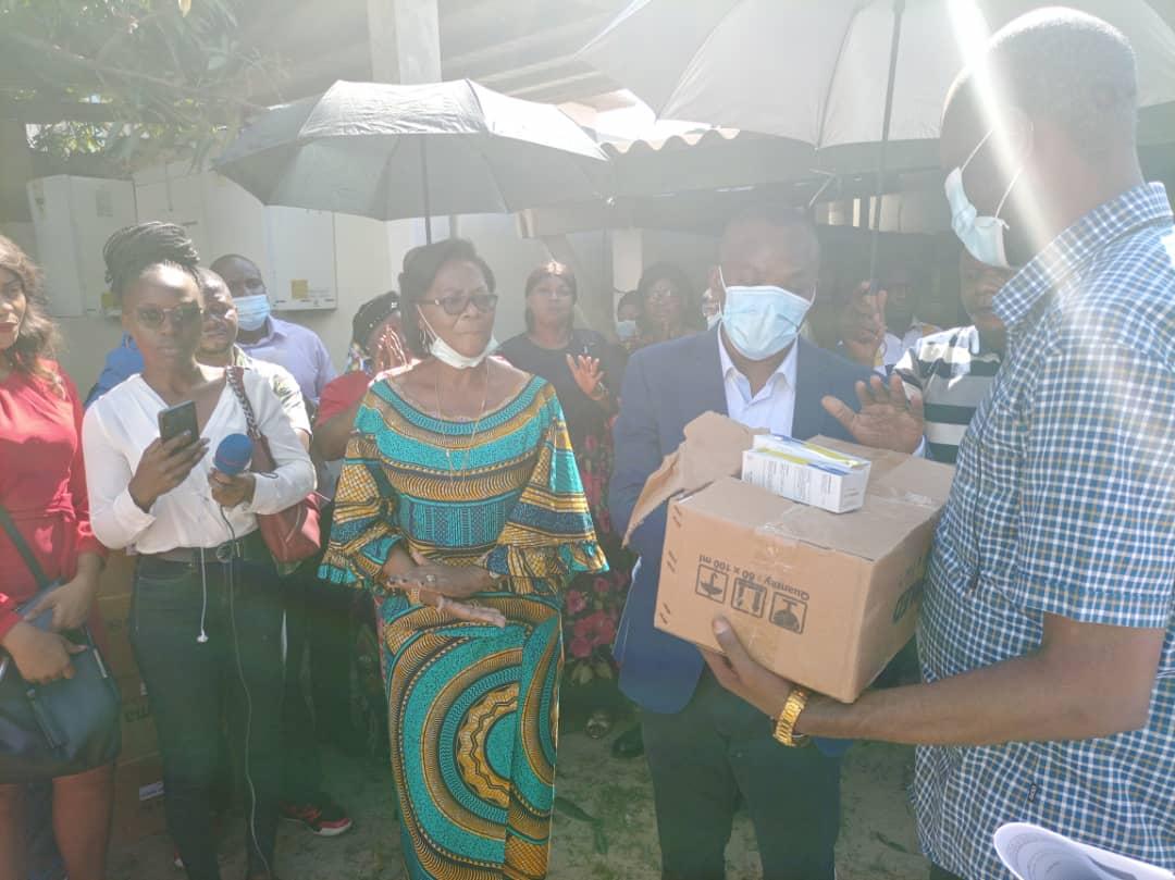 Programme 100 jours: la ministre provincial de la santé de Kinshasa concrétise la promesse du Chef de l'État