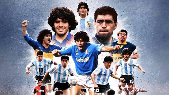 Monde : Décès de la légende du foot argentin, Diego Maradona