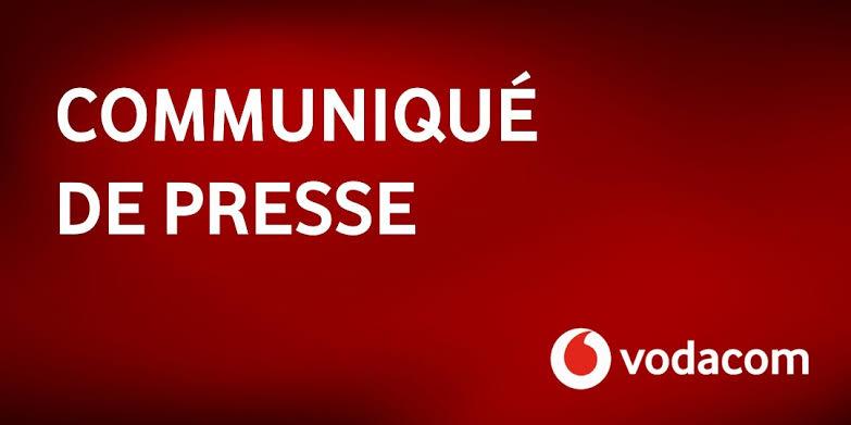 Vodacom Congo réitère son engagement envers ses abonnés par la qualité de ses produits et services (Communiqué de presse)
