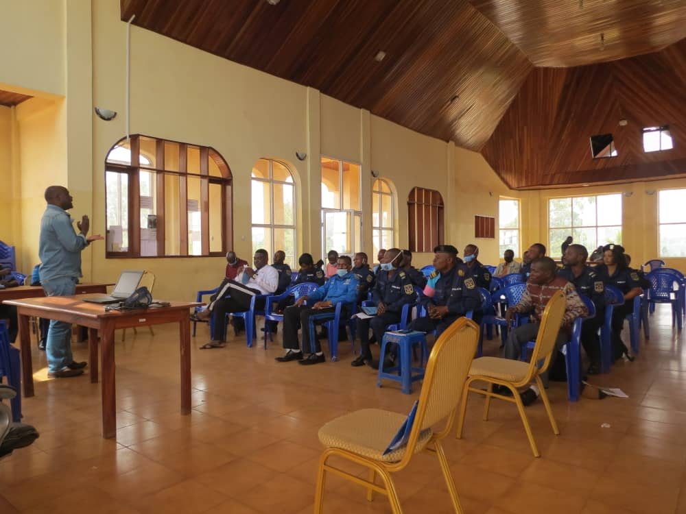 Nord-Kivu/Opération de maintien de l'ordre : les officiers et agents de la police capacités sur les droits humains à Butembo