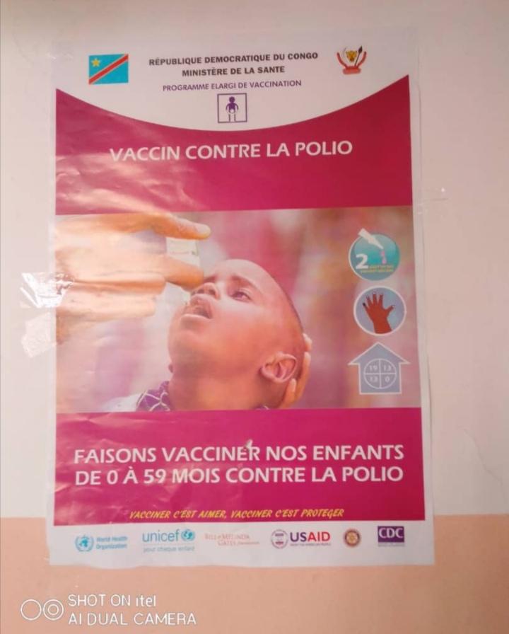 Équateur : campagne de vaccination contre la polio pour les enfants âgés de 0 à 59 mois