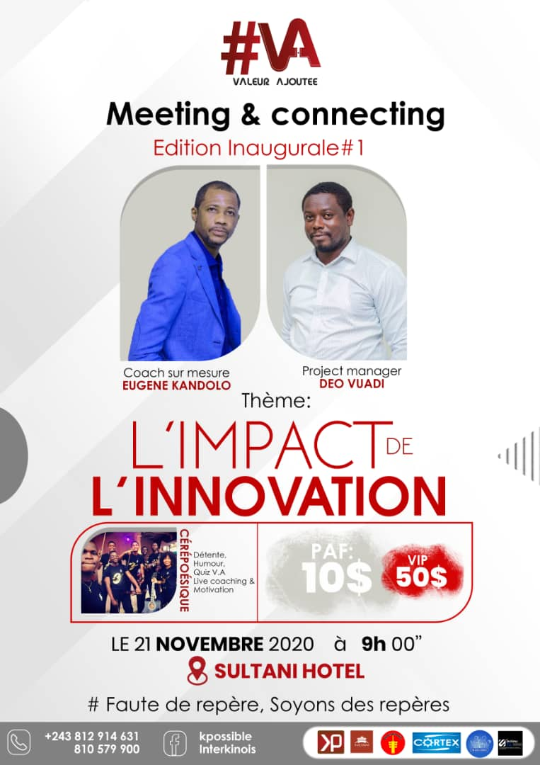 Valeur Ajoutée Meeting and Connecting : le Méga Event est à découvrir ce samedi 21 novembre à Sultani Hôtel