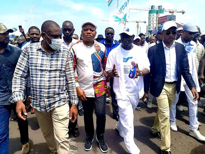 Politique : l'UDPS dans la rue pour soutenir les consultations de Félix Tshisekedi