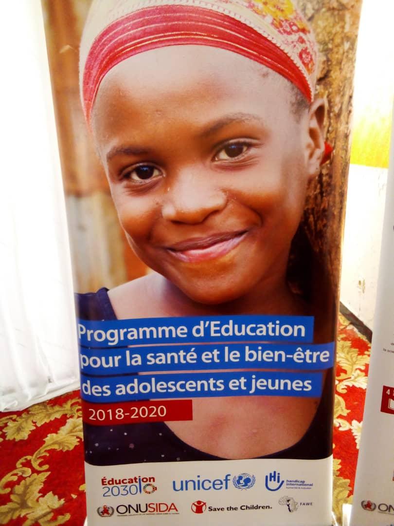 RDC/Santé : l'Unesco sensibilise sur la santé sexuelle et reproductive des jeunes et des adolescents