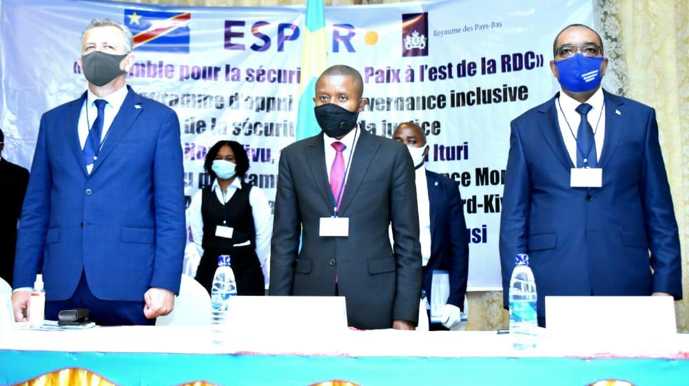 Insécurité à l'Est : lancement du programme Ensemble pour la sécurité et la paix à l'Est de la RDC
