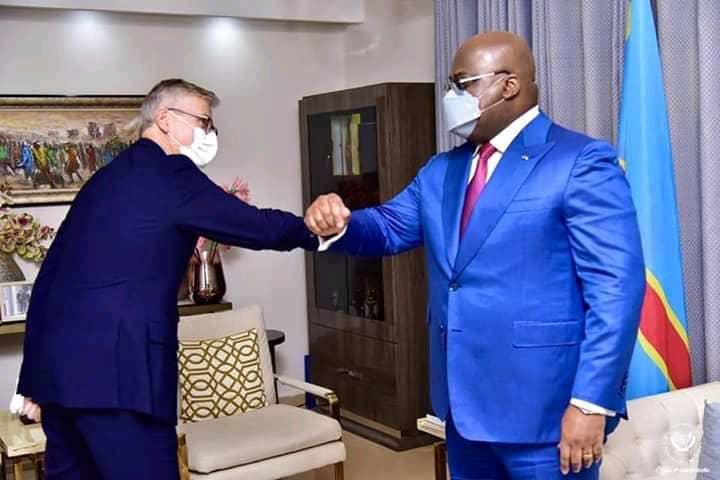 RDC: le secrétaire général adjoint de l'ONU reçu par Félix Tshisekedi