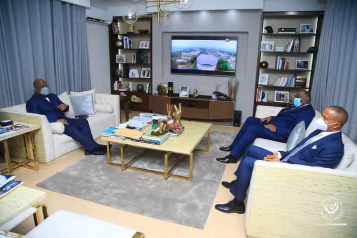 Union sacrée de la nation : Moïse Katumbi et Jean Pierre Bemba de nouveau chez Félix Tshisekedi