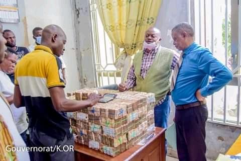 Kasaï-oriental : Plus de 798 millions CDF de reliquat saisis et reversés au trésor public