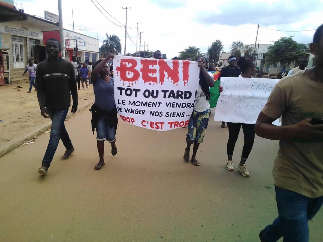Insécurité à Beni : plus d'un révolté après une incursion rebelle ayant causé une vingtaine de morts à Mwenga !