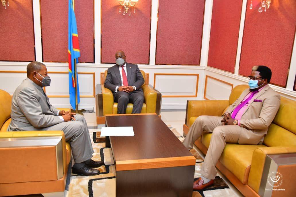 RDC : le sujet de l'Union évoqué durant l'échange entre Félix Tshisekedi et Lambert Mende