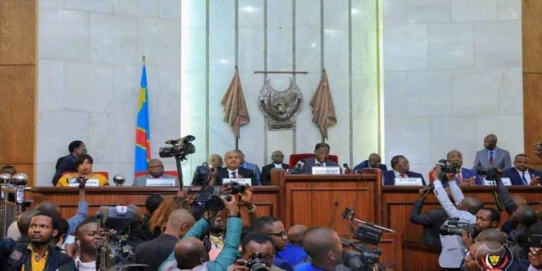 Tentative de l'enlèvement du questeur du Sénat : Thambwe Mwamba saisit Gilbert Kankonde