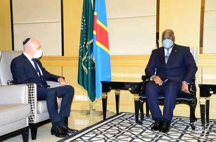 Diplomatie : Félix Tshisekedi invité officiellement en Israël en 2021