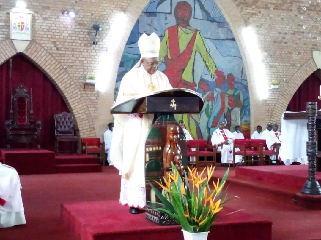 Commémoration de la mort de M'zee Kabila : Le cardinal Fridolin Ambongo lance un appel à la réconciliation pour un nouveau départ