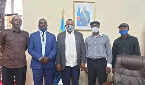 Kasaï oriental : Le présidium de l'UDPS /Mbujimayi reçu par le gouverneur Maweja