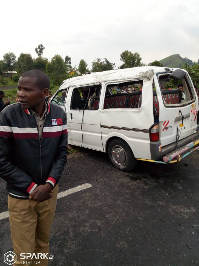 Nord-Kivu : un accident de circulation à Nyirangogo fait 5 morts et plusieurs blessés