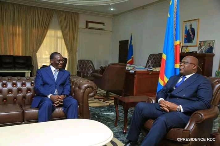 Urgent: Rencontre entre Félix Tshisekedi et Sylvestre Ilunga au palais de la nation à l'instant