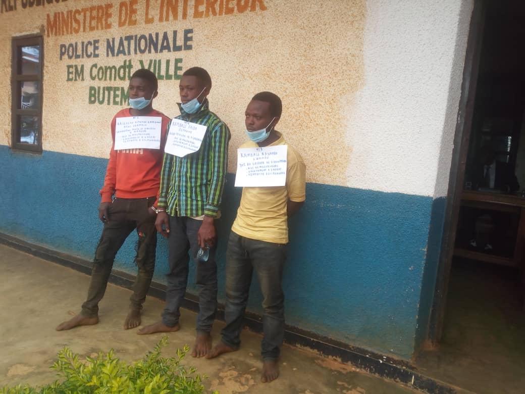 Butembo : la police a maitrisée 3 présumés kidnappeurs