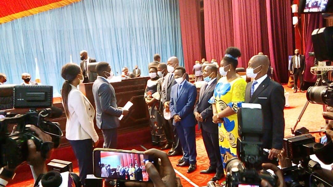 Assemblée nationale: composé de 2 femmes, le nouveau bureau définitif a été installé avant les vacances parlementaires