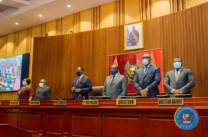 Politique : les sénateurs examinent ce vendredi les pétitions initiées contre le bureau Tambwe Mwamba