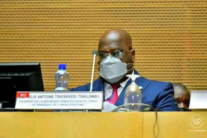 """Présidence de l'Union africaine : Félix Tshisekedi place son mandat d'un an sous le thème """"Arts, culture et patrimoine"""""""